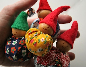 Gingercake gnomes tutorial