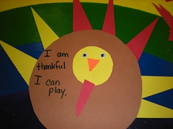 Preschool Playbook thankful turkey
