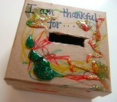 No Time For Flashcards thankful box