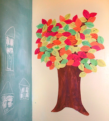 Playing House thankful tree