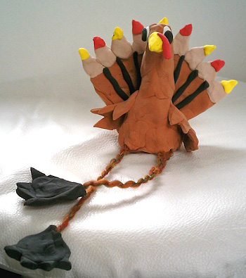 The Art Annex turkey craft