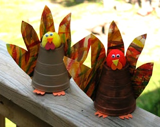 Kaboose paper cup turkey