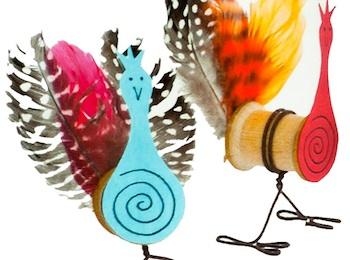 Made By Joel spool turkeys