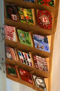 Craftastica recycled advent