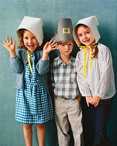 Martha Stewart pilgrim hats and bonnets