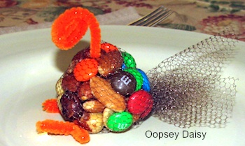 Oopsey Daisy turkey favor