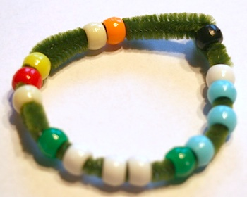 Little Page Turners thanksgiving bead story
