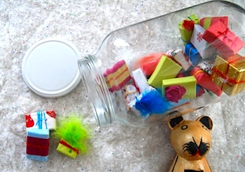 Make Monthly jar advent