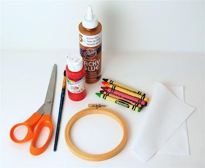 CC10 children's art ornament supplies