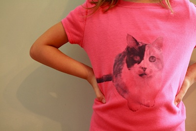 The Long Thread pet tee