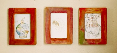Tiny Twist Creative watercolor frames