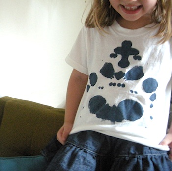 Elsie Marley ink blot shirts