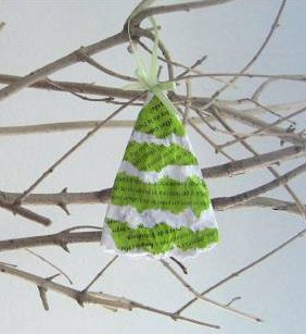 Meyamo recycled paper ornament
