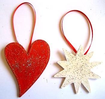 Ninth Street East ornaments