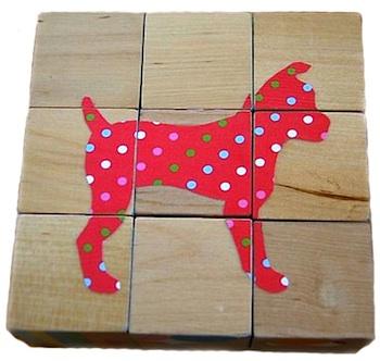 Chasing Cheerios animal puzzle