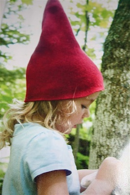 Moment To Moment felted gnome hat