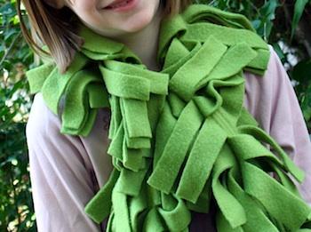 Living On 4th Street boa scarf