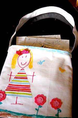 Just Deanna mommy me tote bag