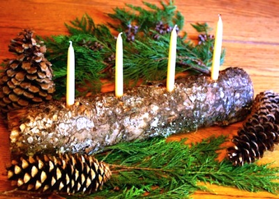 Rhythm of the Home yule log