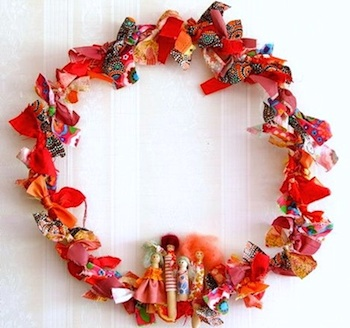 Miko Design christmas wreath