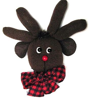 Kleas glove reindeer