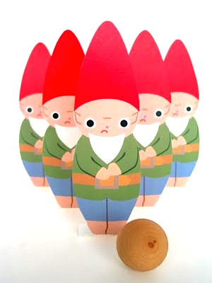 Fantastic Toys gnome bowling