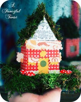 A Fanciful Twist little paper house