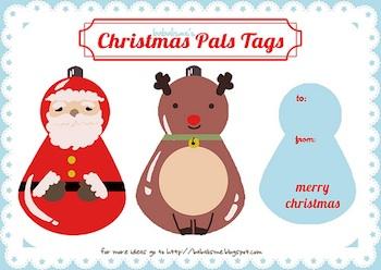 Babalisme santa reindeer ornament
