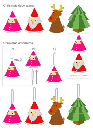 Free Printable Christmas Decorations Merry And Happy New