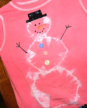 From The Hive snowman shirt
