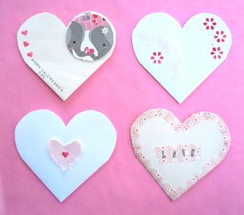 Zakka Life upcycled valentine