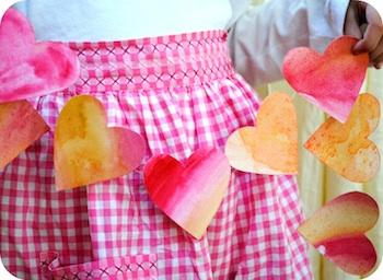 Garden Mama valentine's day garland