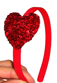 Crafts & Parties valentine head band
