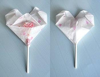 Zakka Life origami hearts