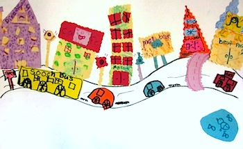 Art Lessons For Kids texture city