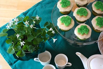 Chasing Fireflies st. patrick's day tea