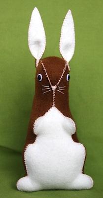 Hazelnuts bunny