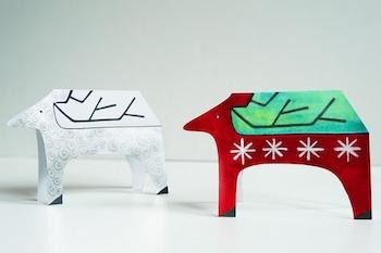 Made By Joel reindeer cards