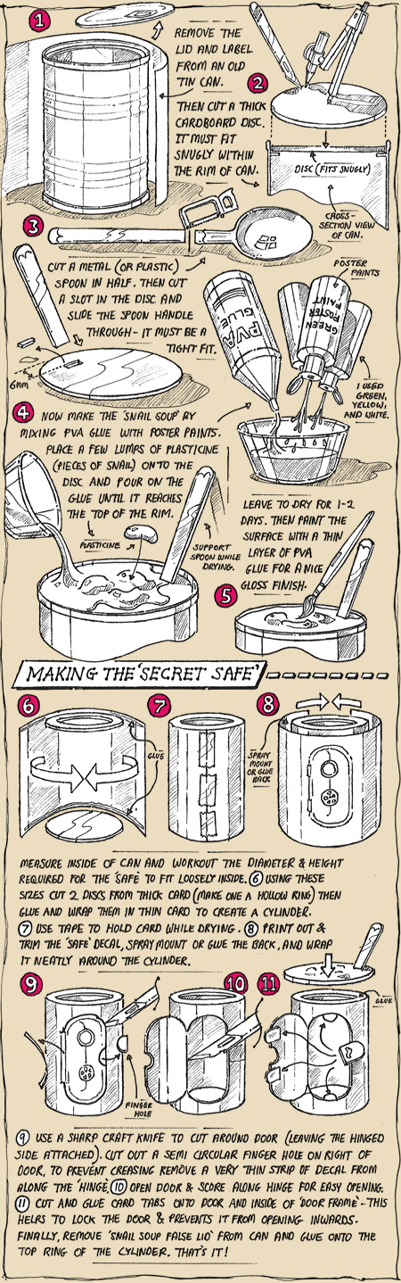 CC10 Snail Soup Decoy instructions