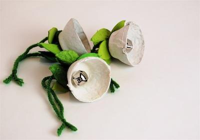 CC10 white jingle bell flower 50