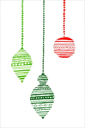 Art Projects For Kids ornament card