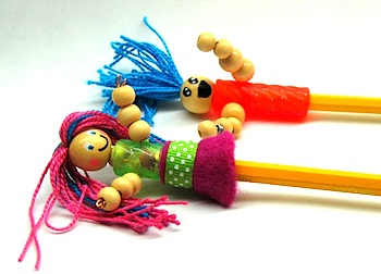 Craftberry Bush pencil pals