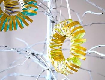 Michele Made Me tp tube wreath ornament