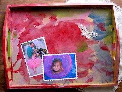 Petunia gifts tray