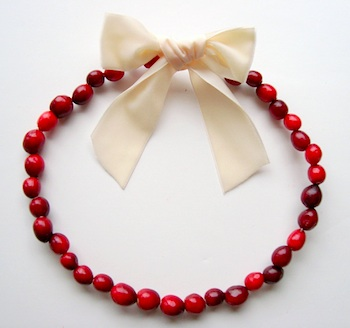 Maya*Made cranberry wreath
