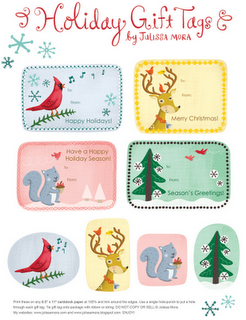 We Love To Illustrate holiday tags 1