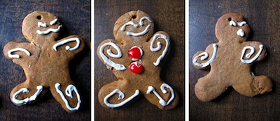 Ordinary Life Magic gingerbread men recipe
