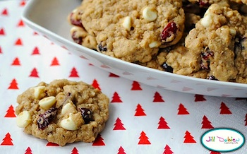 Meet The Dubiens cranberry white chocolate oatmeal cookies