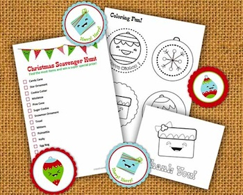 Creative Mama christmas printables