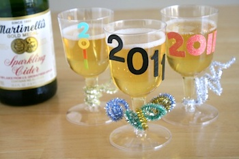 Make And Takes personalized new year's eve cups
